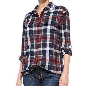 EQUIPMENT Signature Plaid Shirt Button Down XS
